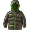 Patagonia Babies Hi-Loft Down Sweater Hoody Industrial Green